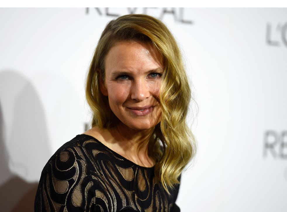 New look: Zellweger at Elle's Women in Hollywood awards on Monday