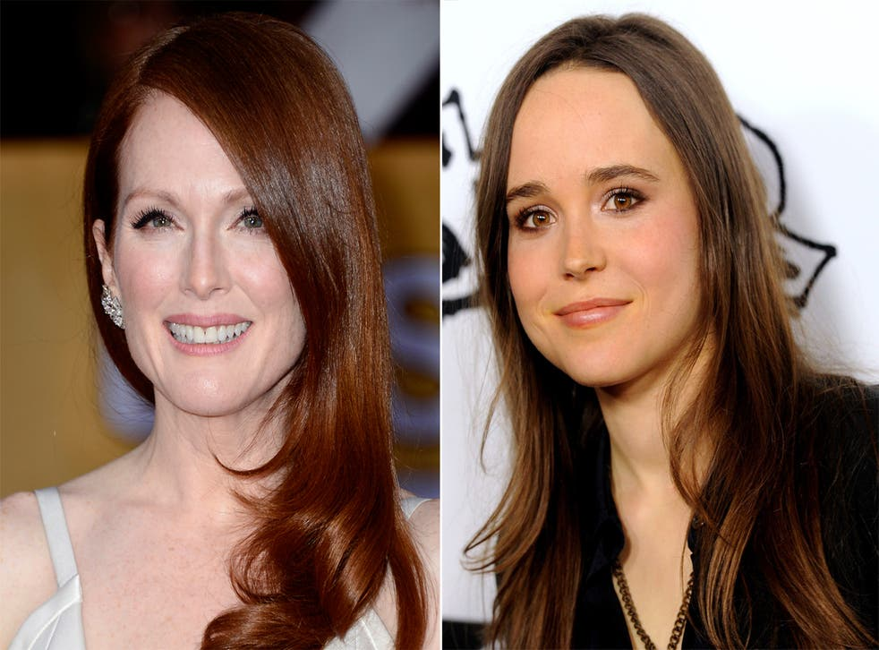 Julianne Moore and Ellen Page are starring together in civil rights drama Freeheld