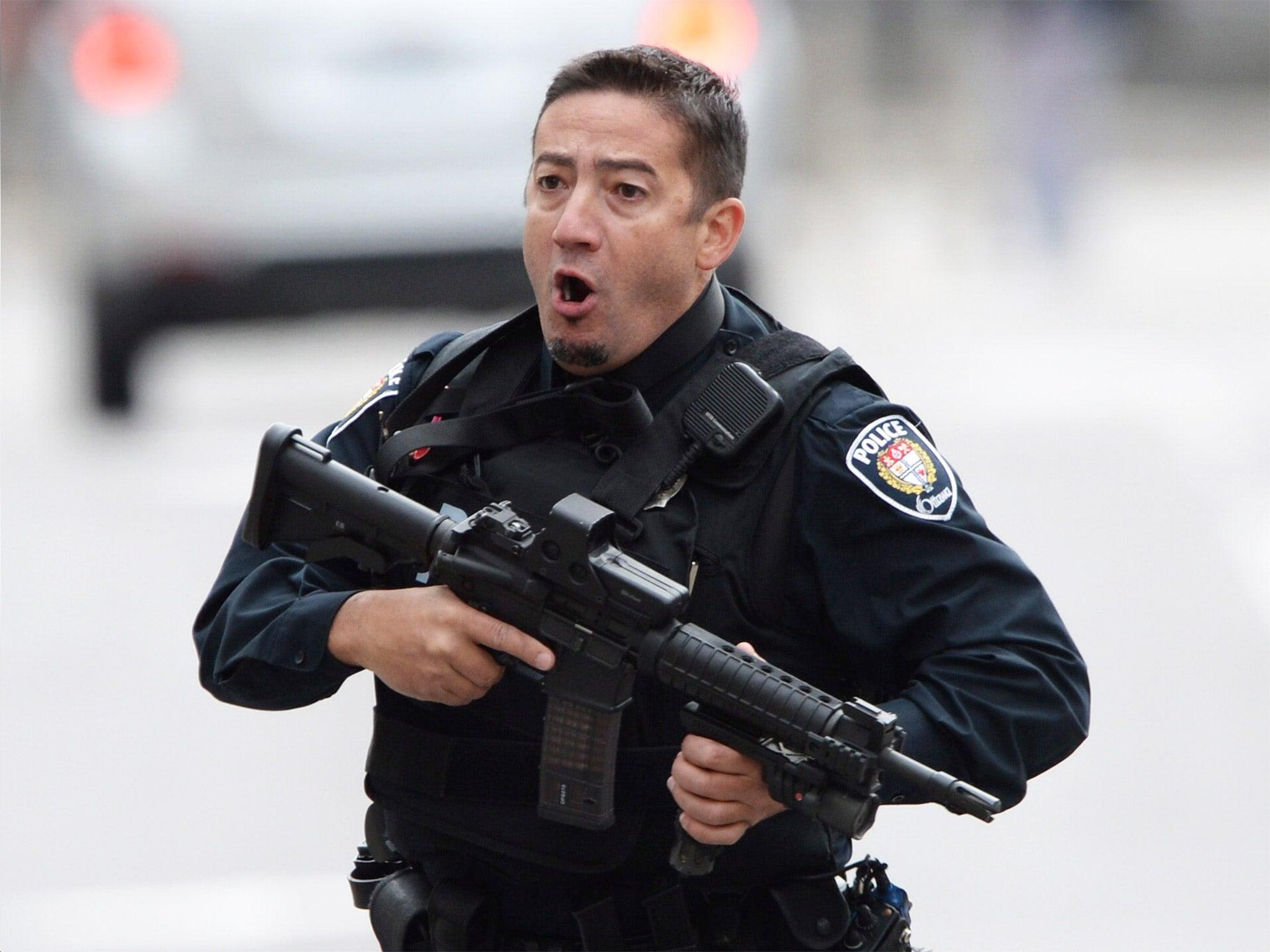 Ottawa shooting: 'Sergeant-at-arms Kevin Vickers shot