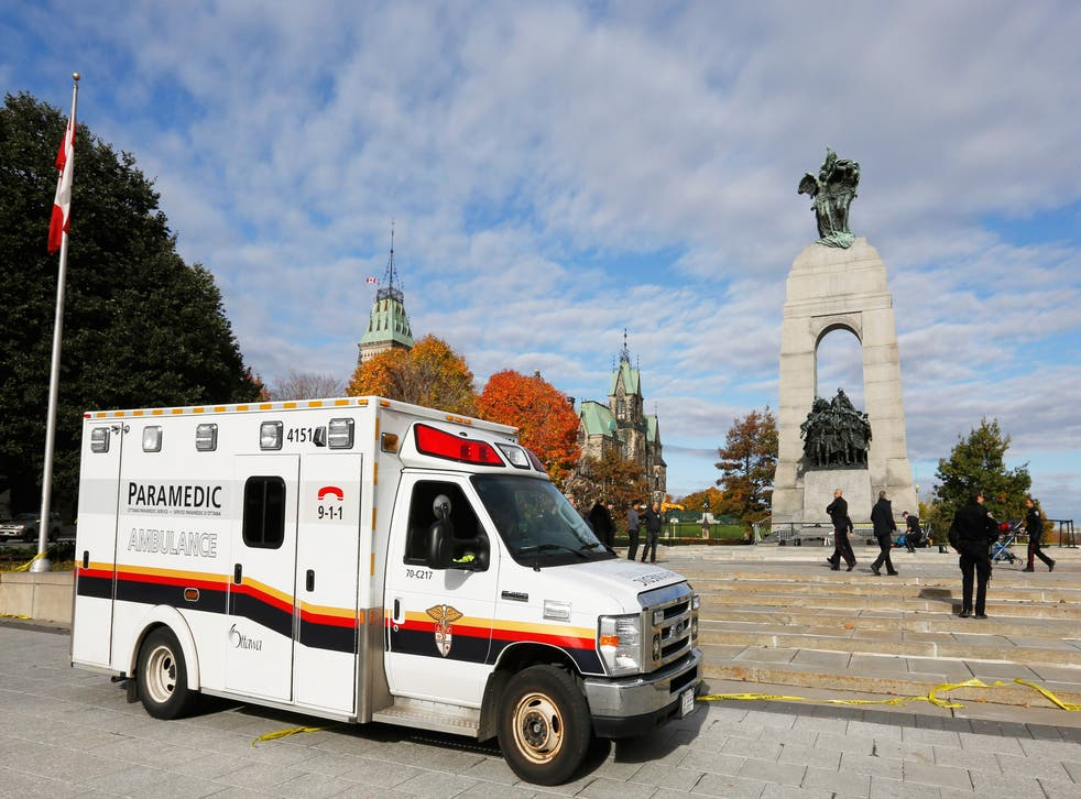 The soldier shot dead as he stood guard at Ottawa's National War Memorial has been named as Corporal Nathan Cirillo