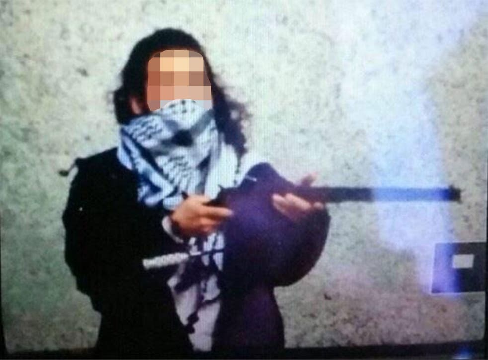 An Isis-related Twitter account posted this image in the aftermath of the shooting, claiming it showed suspect Michael Zehaf-Bibeau