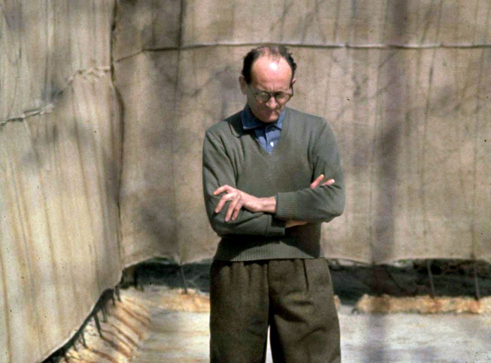 Criminal justice: Adolf Eichmann awaiting his trial in Israel in 1961