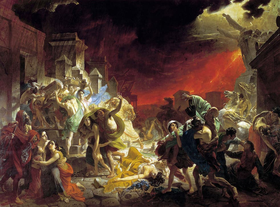 Broad, bewitching broadcasts: The Destruction of Pompeii