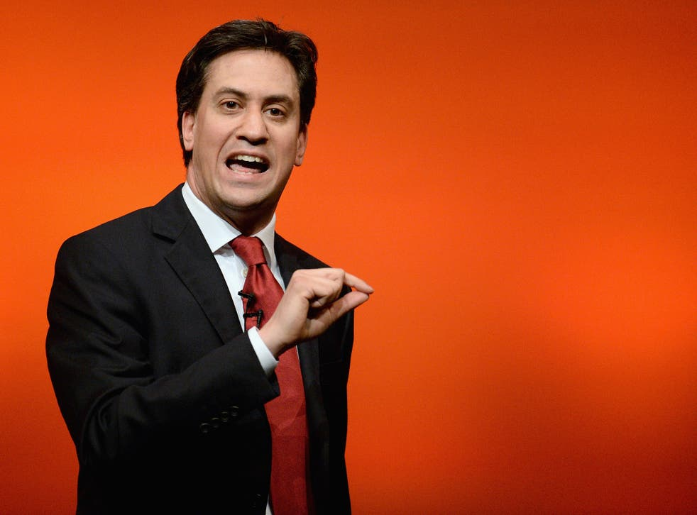"""Ed Miliband has said that the UK """"needs stronger controls on people coming here"""""""
