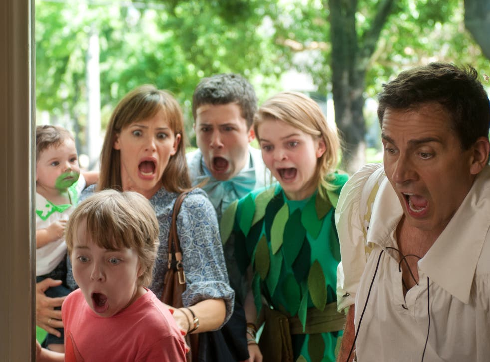 Jennifer Garner and Steve Carell in 'Alexander and the Terrible, Horrible, No Good, Very Bad Day'