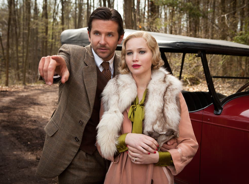 Saw point: Bradley Cooper and Jennifer Lawrence in 'Serena'