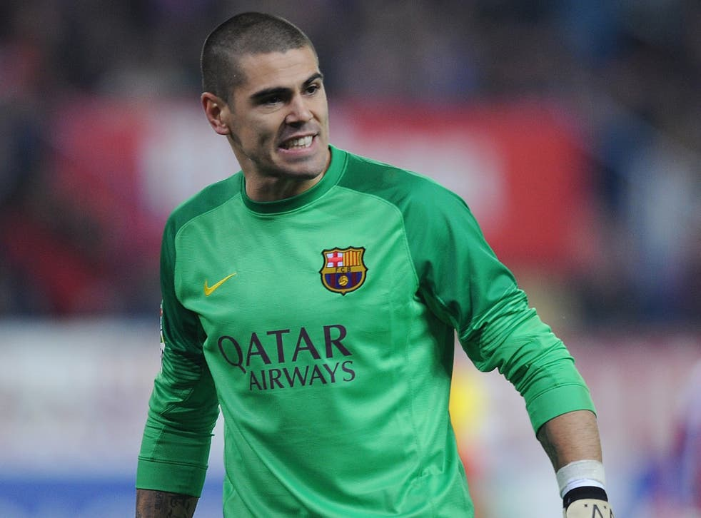 United's manager, Louis van Gaal, gave Victor Valdes his Barcelona debut as a 20-year-old in 2002