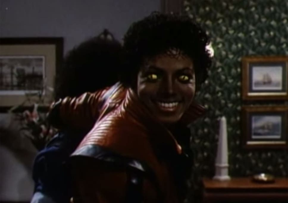 michael jackson as a zombie in halloween hit thriller