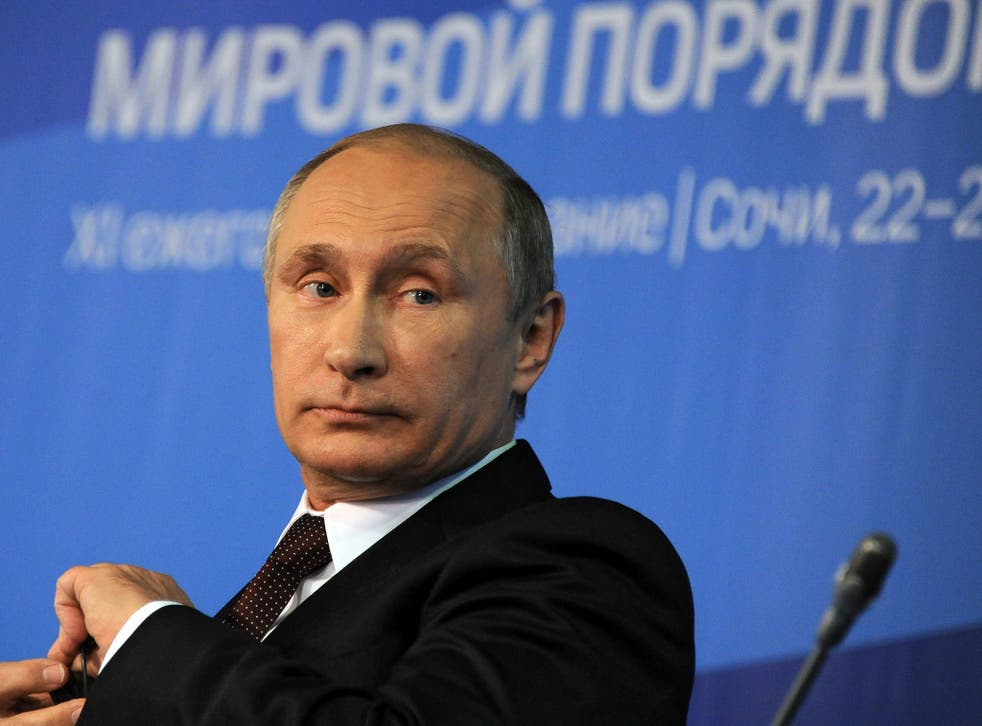 Vladimir Putin and the Russians blamed the Dutch
