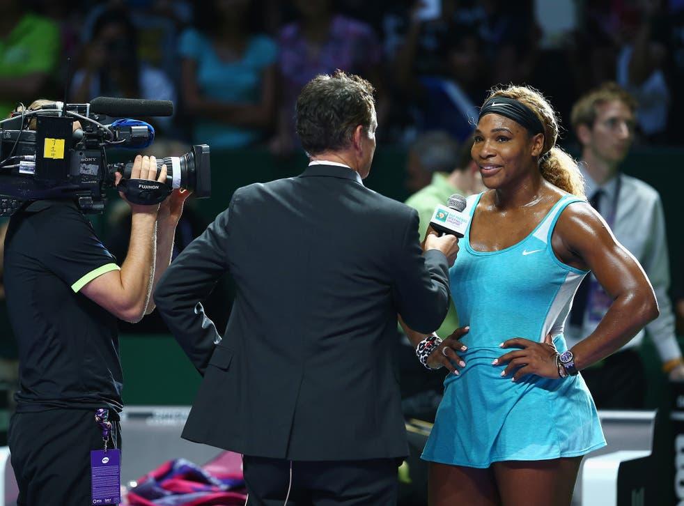 Serena Williams beats Li Na for WTA title