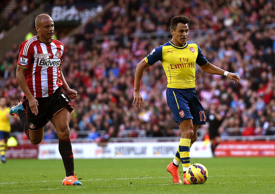 29d3e552ded3d8 Sunderland vs Arsenal match report  Alexis Sanchez on target twice for the  Gunners