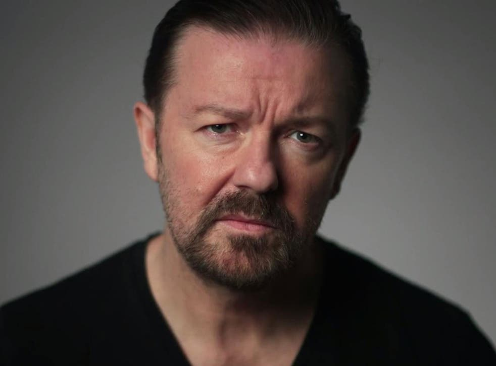 Ricky Gervais has defended his tweets