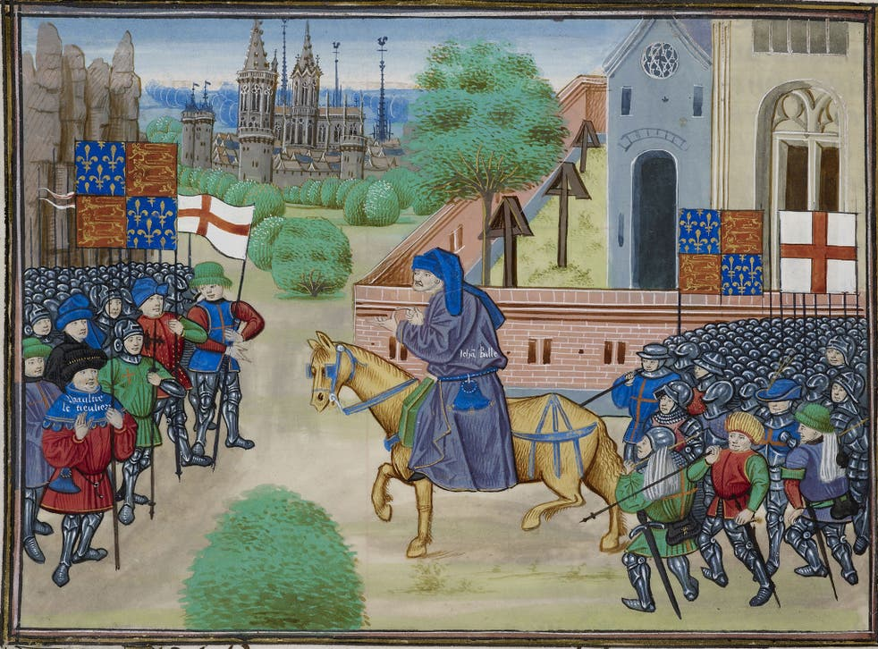 Power to the people: John Balle is credited as being the architect of the uprising in 1381