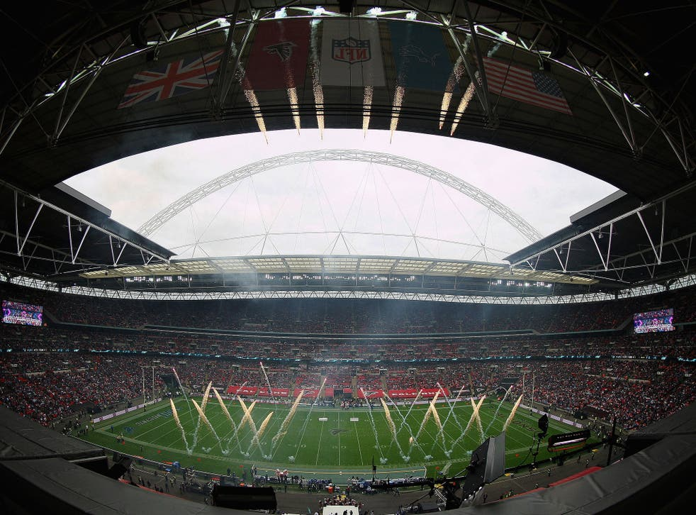 Wembley Stadium will host its second NFL game of the season