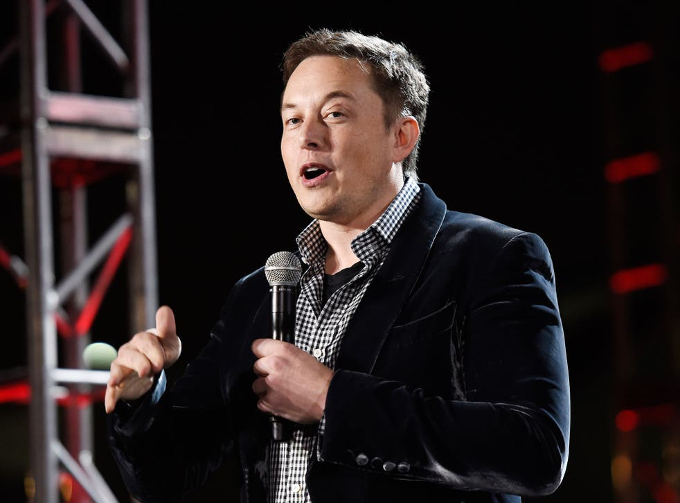 CEO of Tesla, Elon Musk