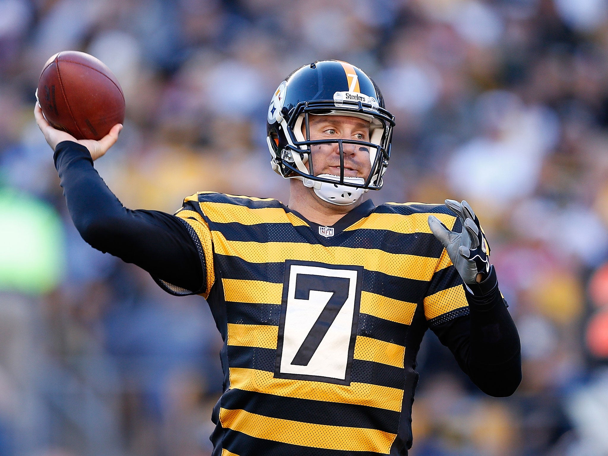 NFL round up Ben Roethlisberger enjoys record day as Steelers