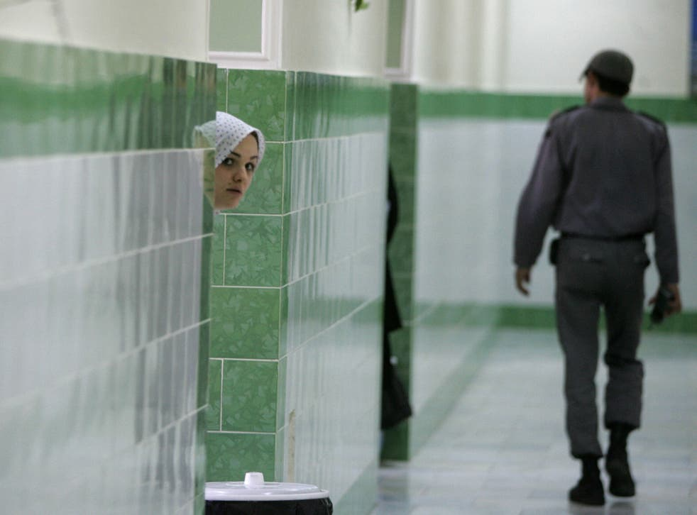 Evin Prison in Iran, which is known for its political prisoners