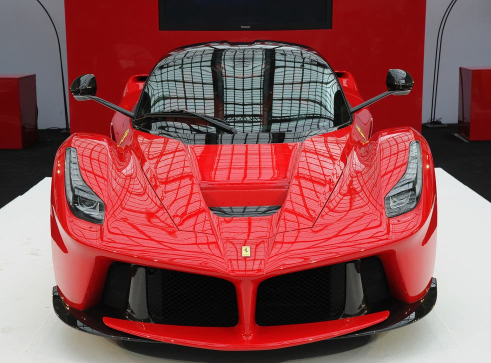 Limited edition cars such as the LaFerrari can only be bought with an invite