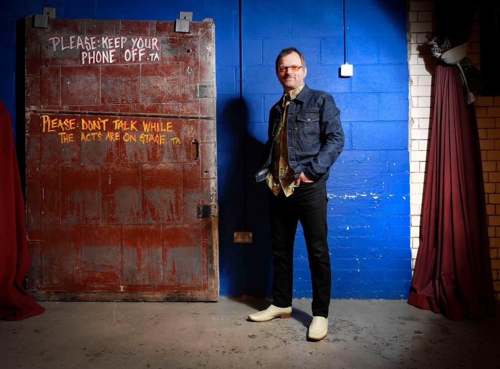 Viz Comic founder and stand up comedian, Simon Donald, The Stand Comedy Club, Newcastle Upon Tyne