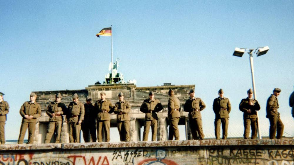 Fall Of The Berlin Wall It Was Thanks To Soviet Leader Mikhail