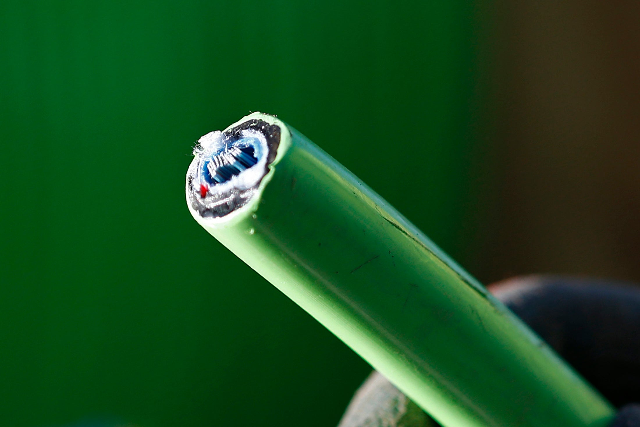 Breakthrough fibre optic technology can transfer the entire internet in a single glass strand
