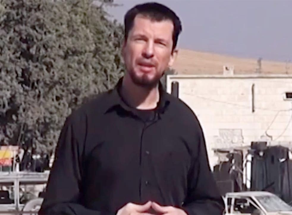 John Cantlie appearing in his sixth Isis propaganda video