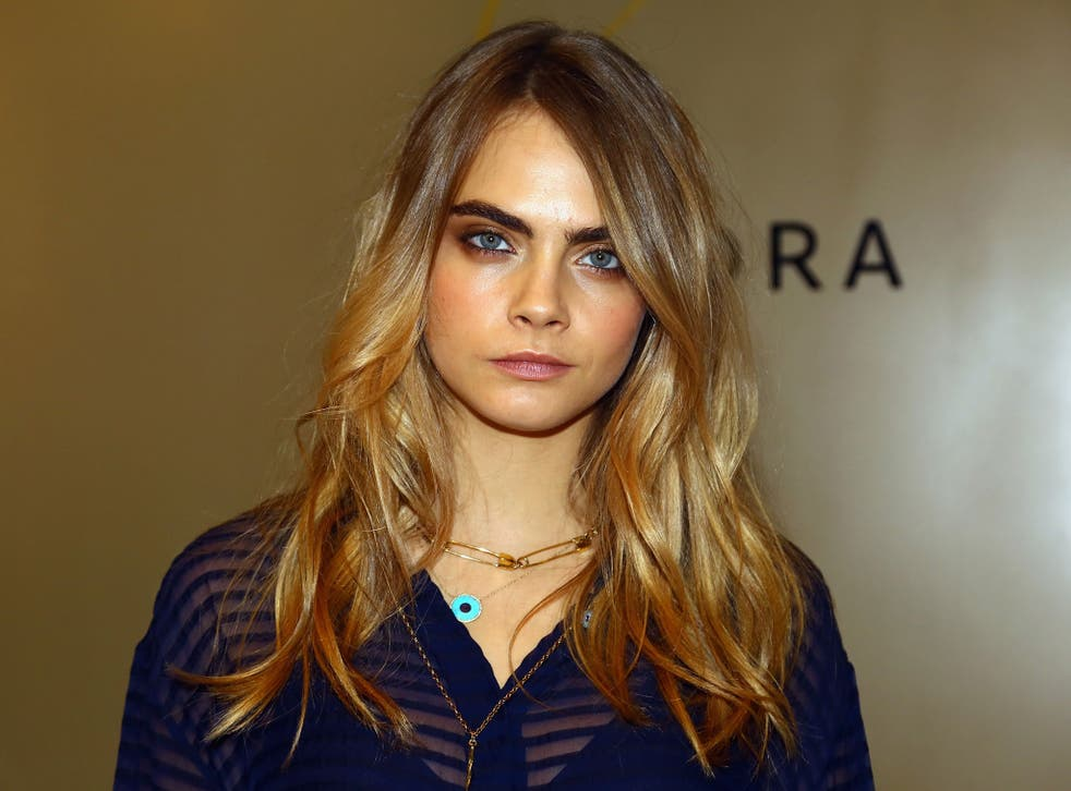 Cara Delevingne has been trying her hand at acting as well as modelling