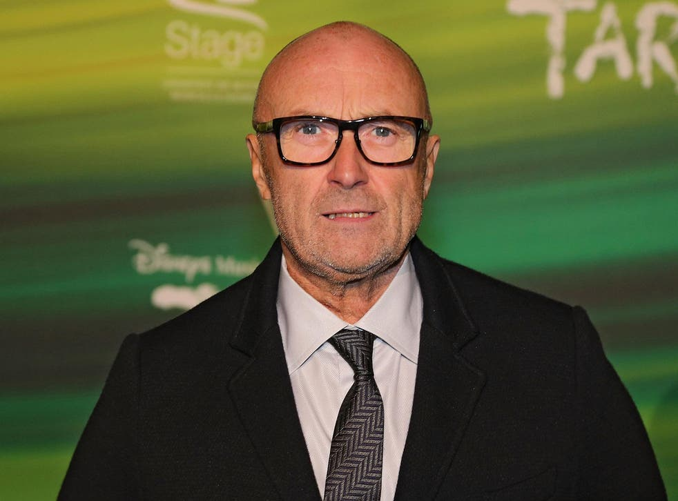 Phil Collins is backing the Young and Homeless Helpline Appeal