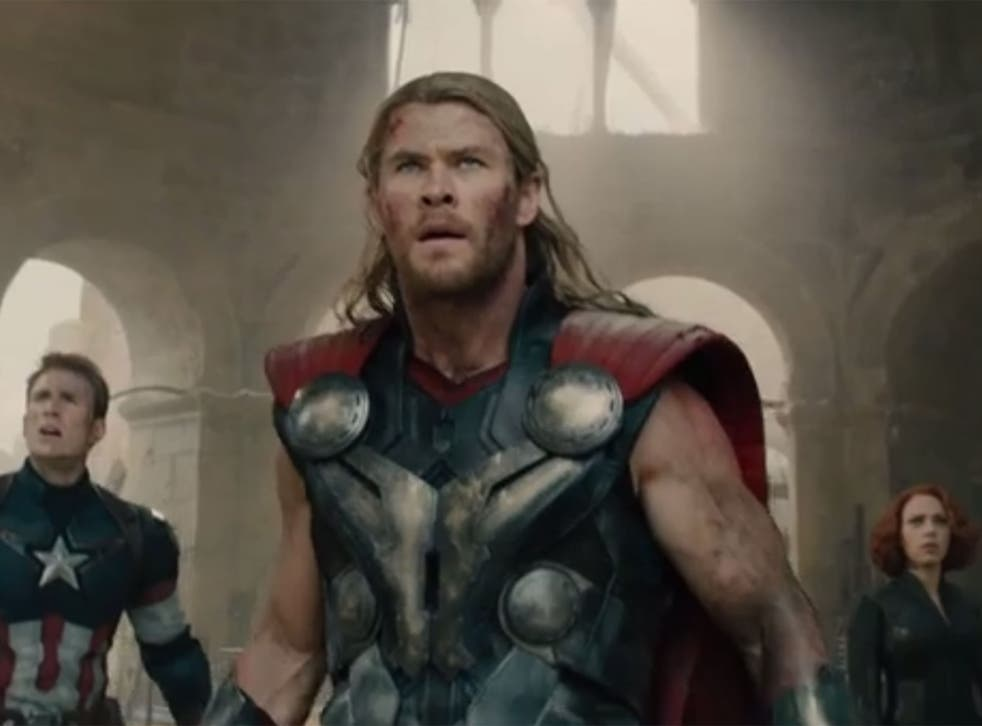 Chris Hemsworth stars as Thor in Avengers: Age of Ultron