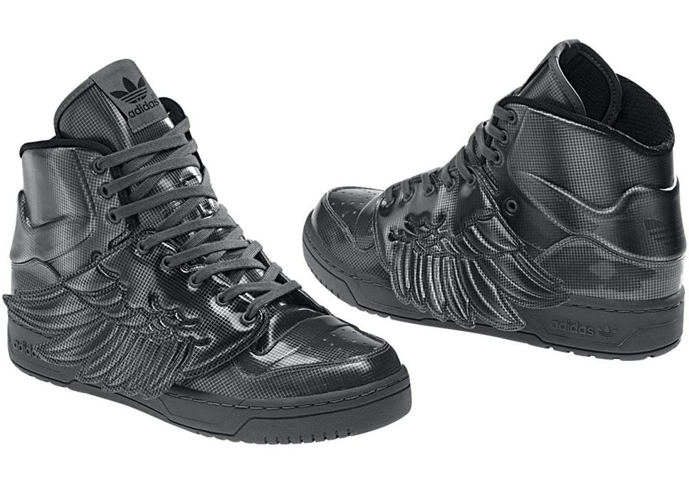 online store 634b7 b5a8b Sold out JS Wings 3.0 return in Jeremy Scott s new quirky footwear  collection for Adidas