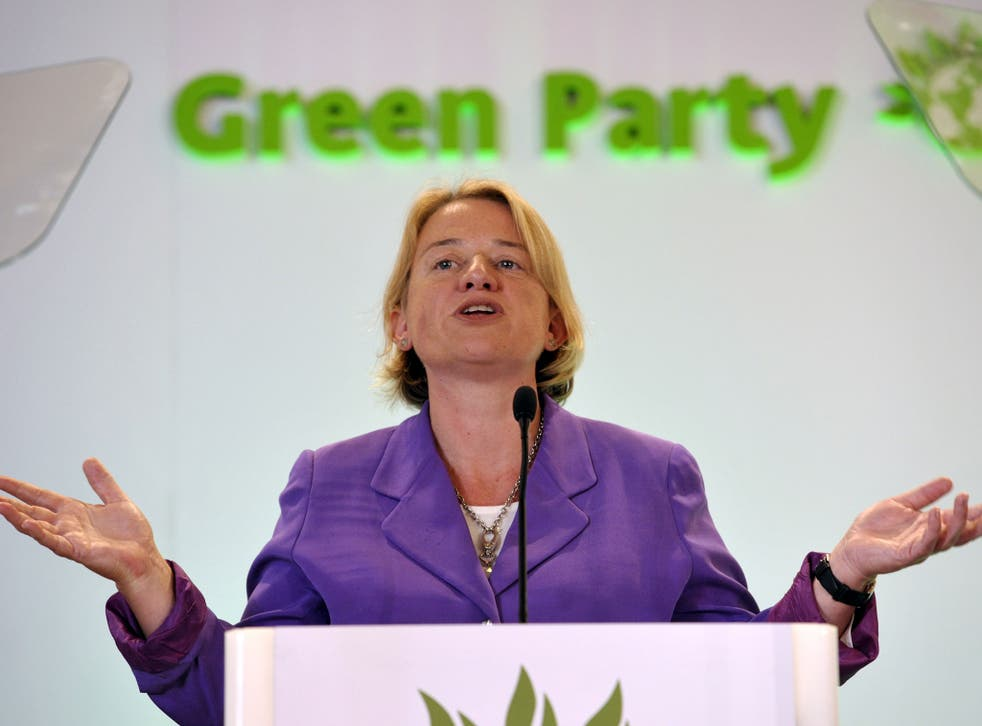 Natalie Bennett, the leader of the Green Part, says it should not be illegal to belong to al-Qaeda or Isis