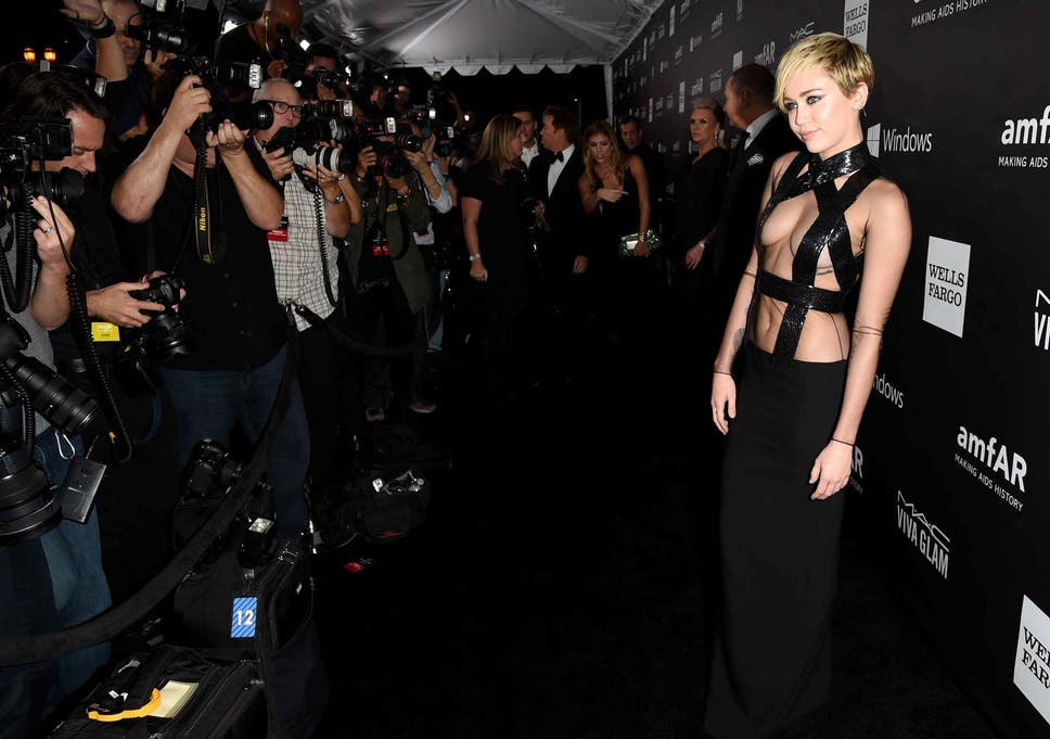 From Miley Cyrus\' bondage outfit to Rihanna\'s nipple pasties: Who ...