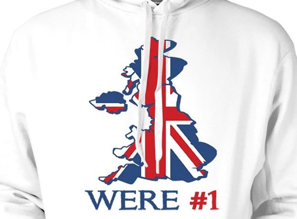'Proud to be British' hoodie