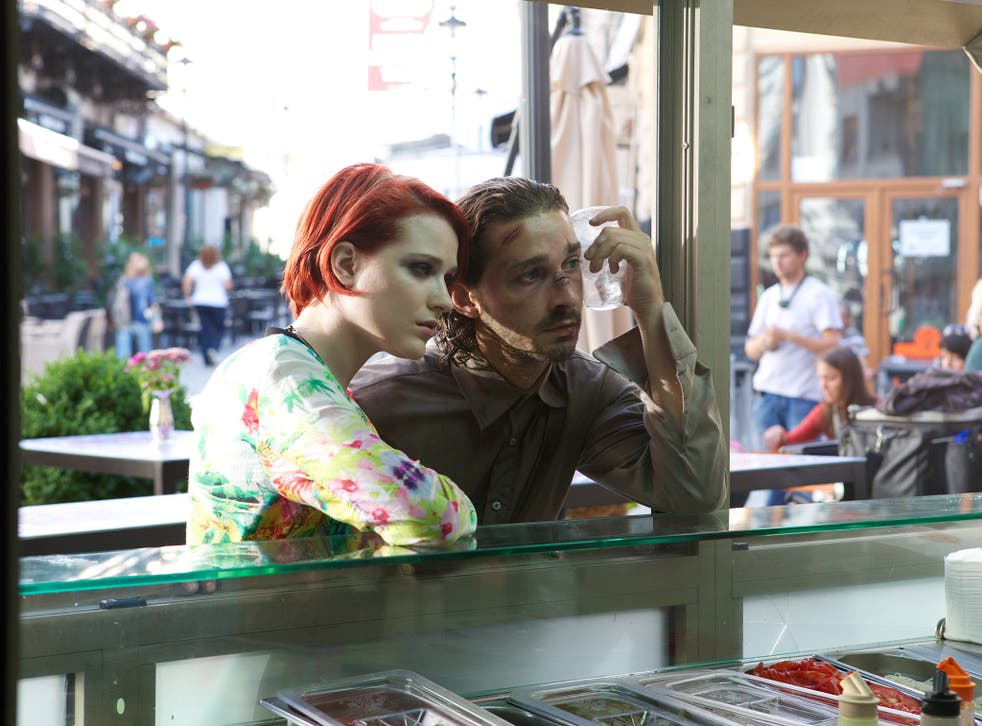 Evan Rachel Wood and Shia LaBeouf in 'The Necessary Death of Charlie Countryman'
