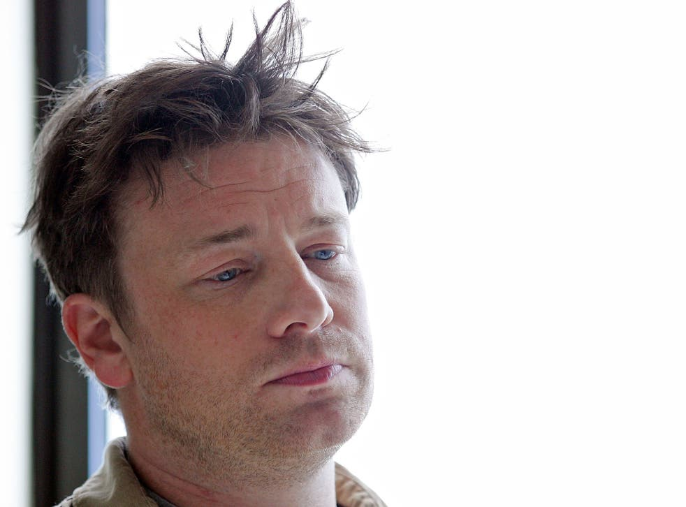 Jamie Oliver's site is the 538th most popular in the UK