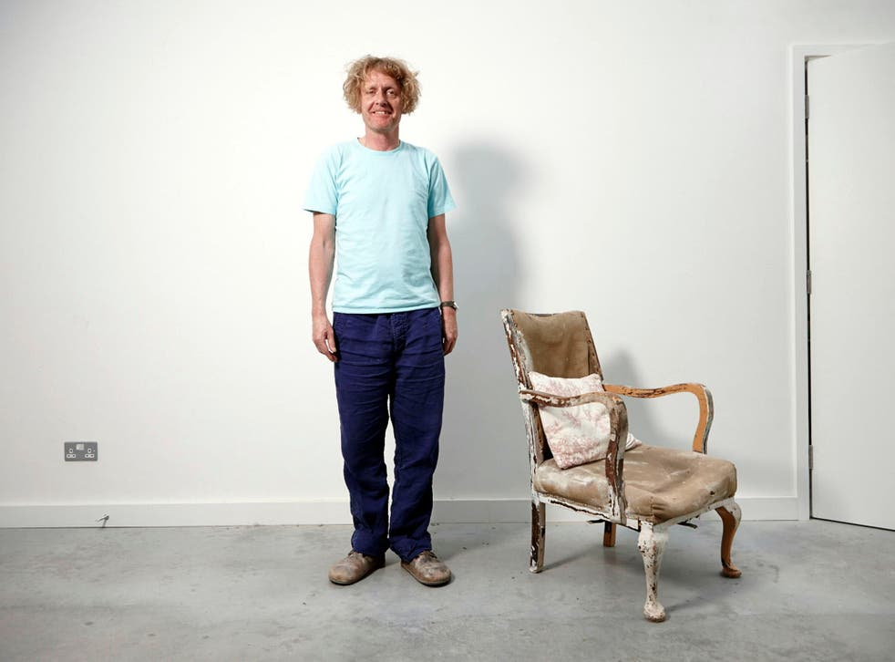 Grayson Perry at his studio in North London / Summer 2014 (Richard Ansett/Channel 4 images)