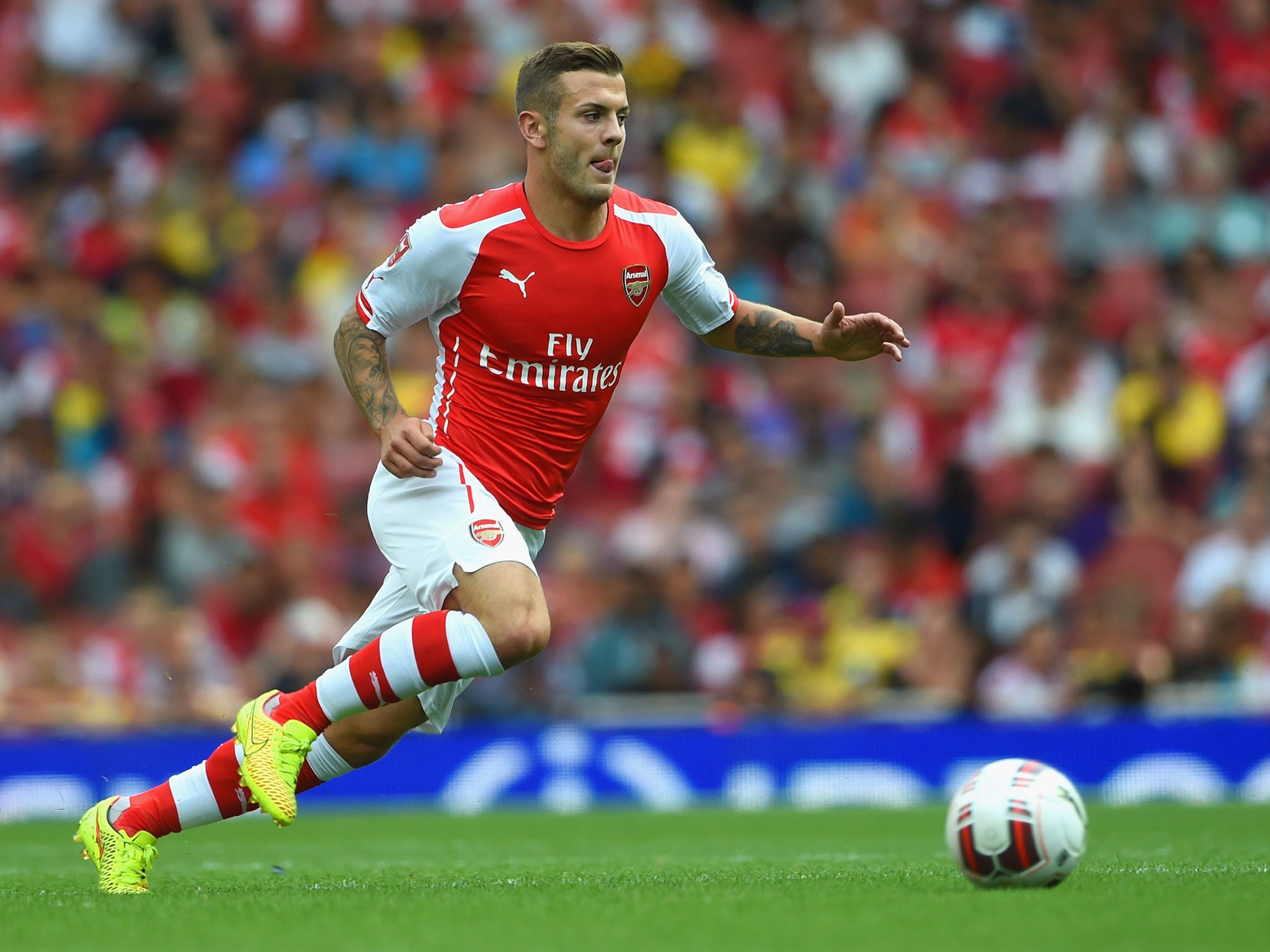 Image result for Jack Wilshere Arsenal