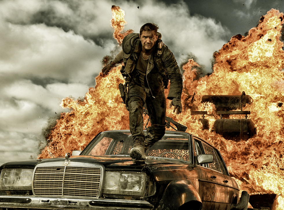 Tom Hardy stars in dystopian action thriller Mad Max: Fury Road