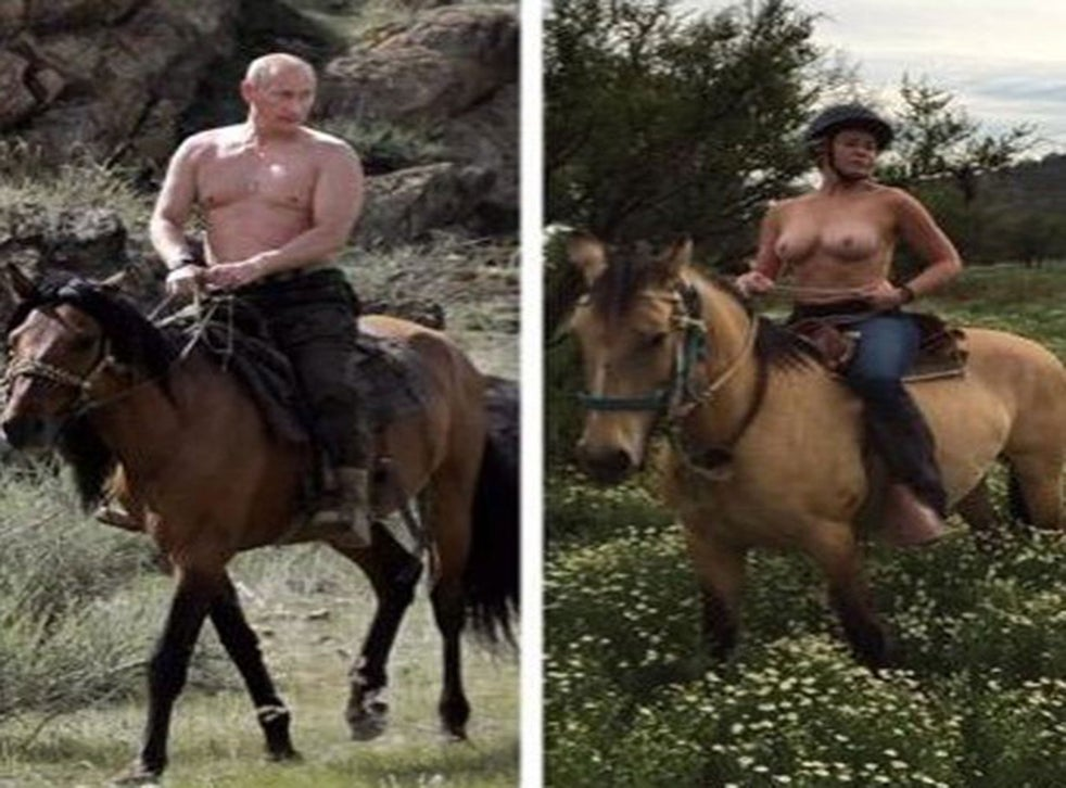 Chelsea Handler Uses Topless Vladimir Putin Photo To Highlight Instagram Nudity Inequalities The Independent The Independent