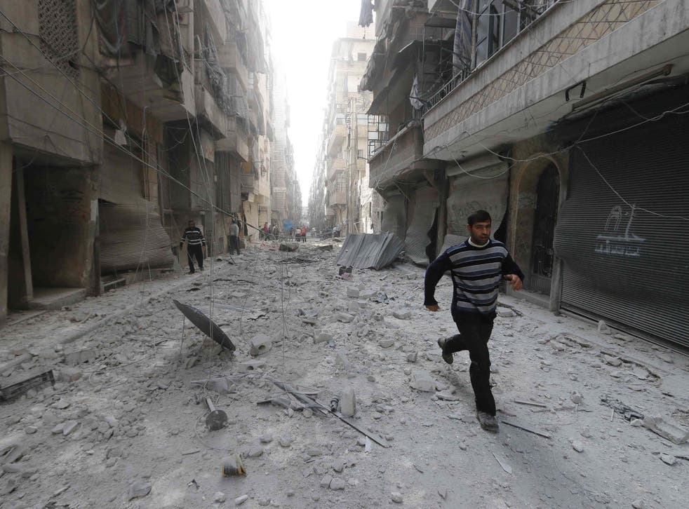 He was kidnapped while visiting a bombsite in Aleppo