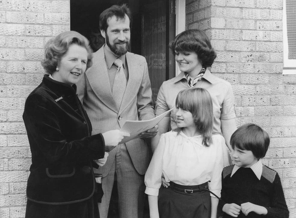 Margaret Thatcher introduced the Right to Buy scheme in 1979