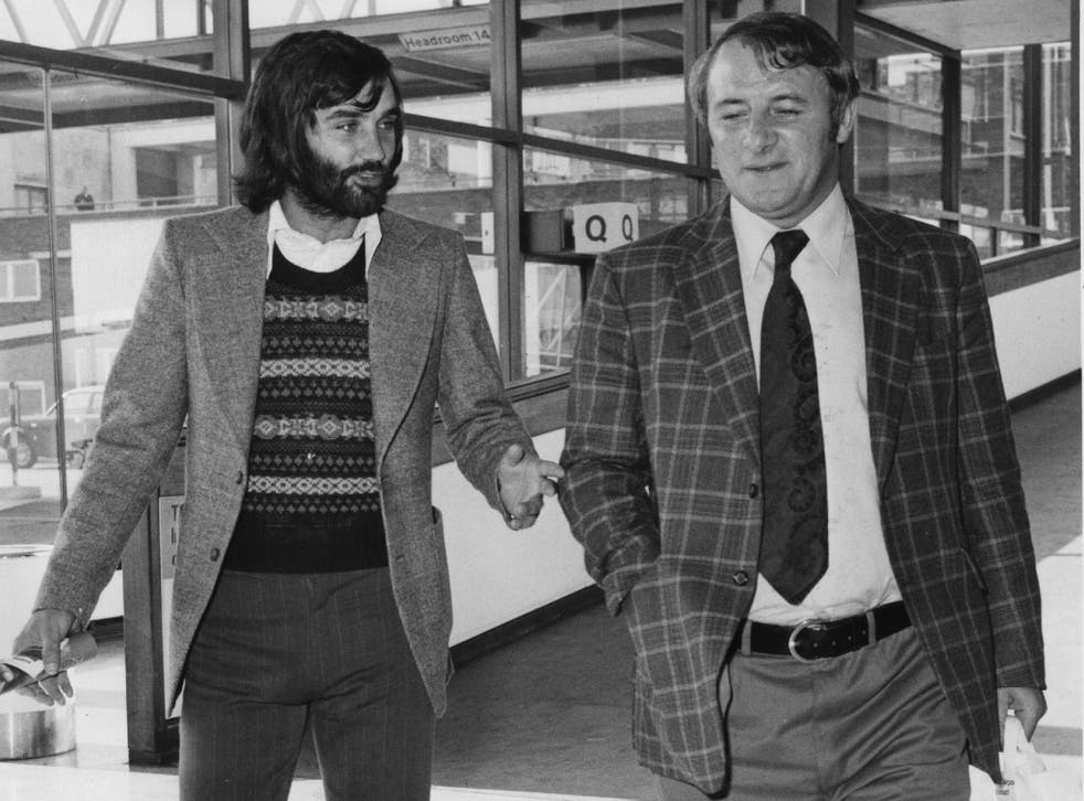 Tommy Docherty with George Best