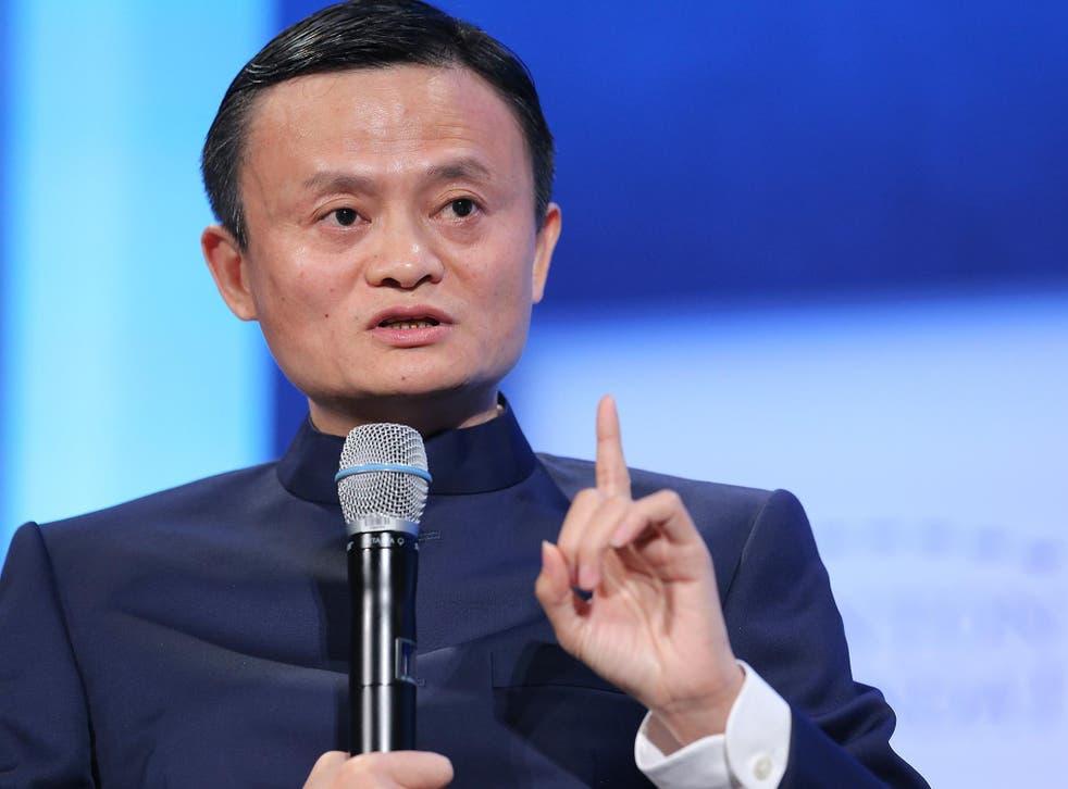Presidente Ejecutivo del Grupo Alibaba Jack Ma
