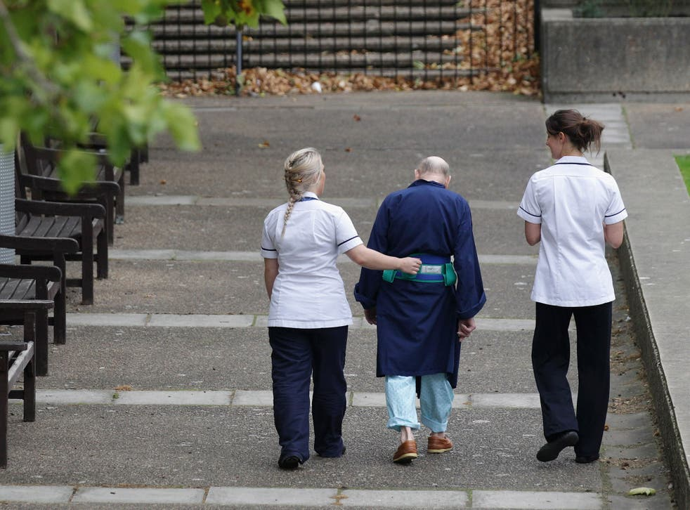 The hospital claims many patients are well enough to leave