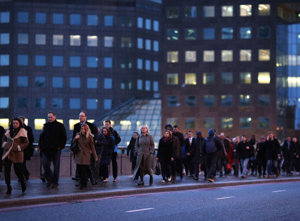 Two thirds of employed people say that the amount of work they are expected to do has grown over the past few years