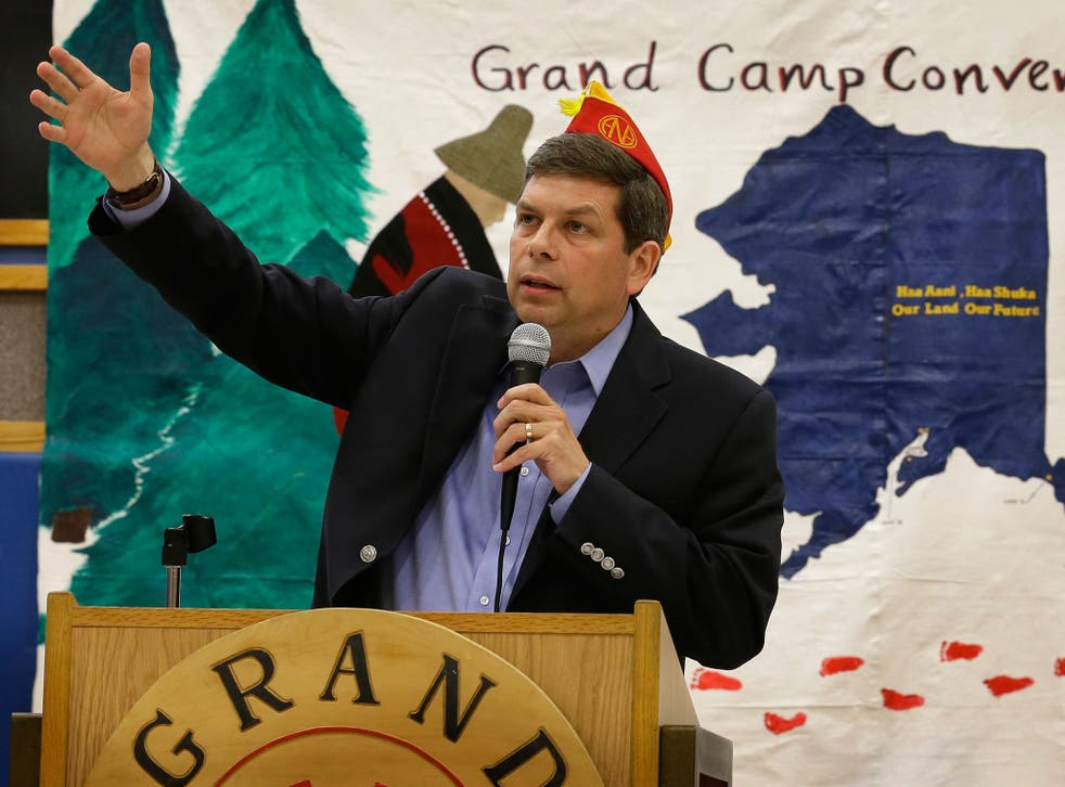 Incumbent Mark Begich was ahead of his Republican rival by almost 10 points in a poll on 24 October