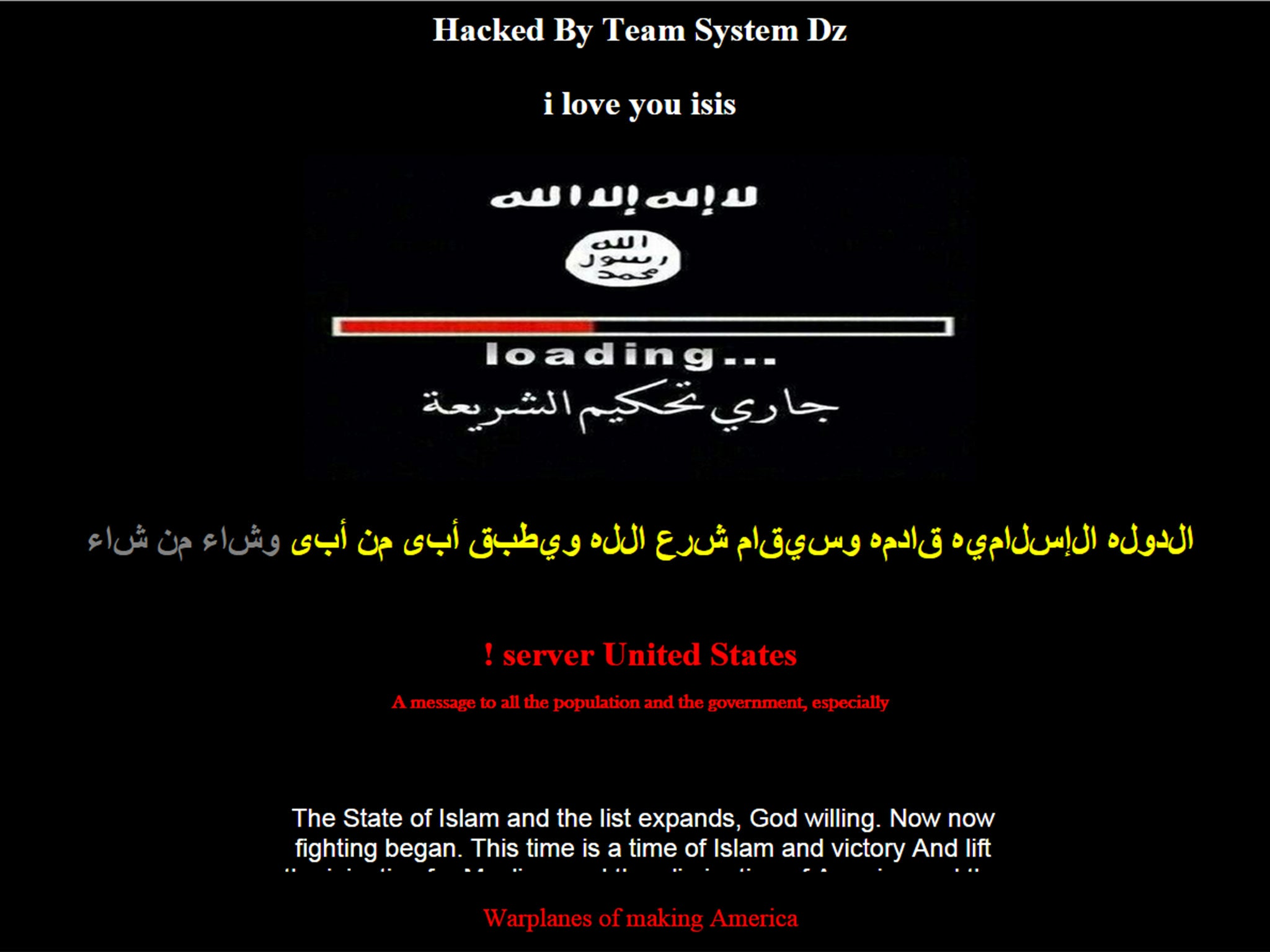 Hacked by team system Dz