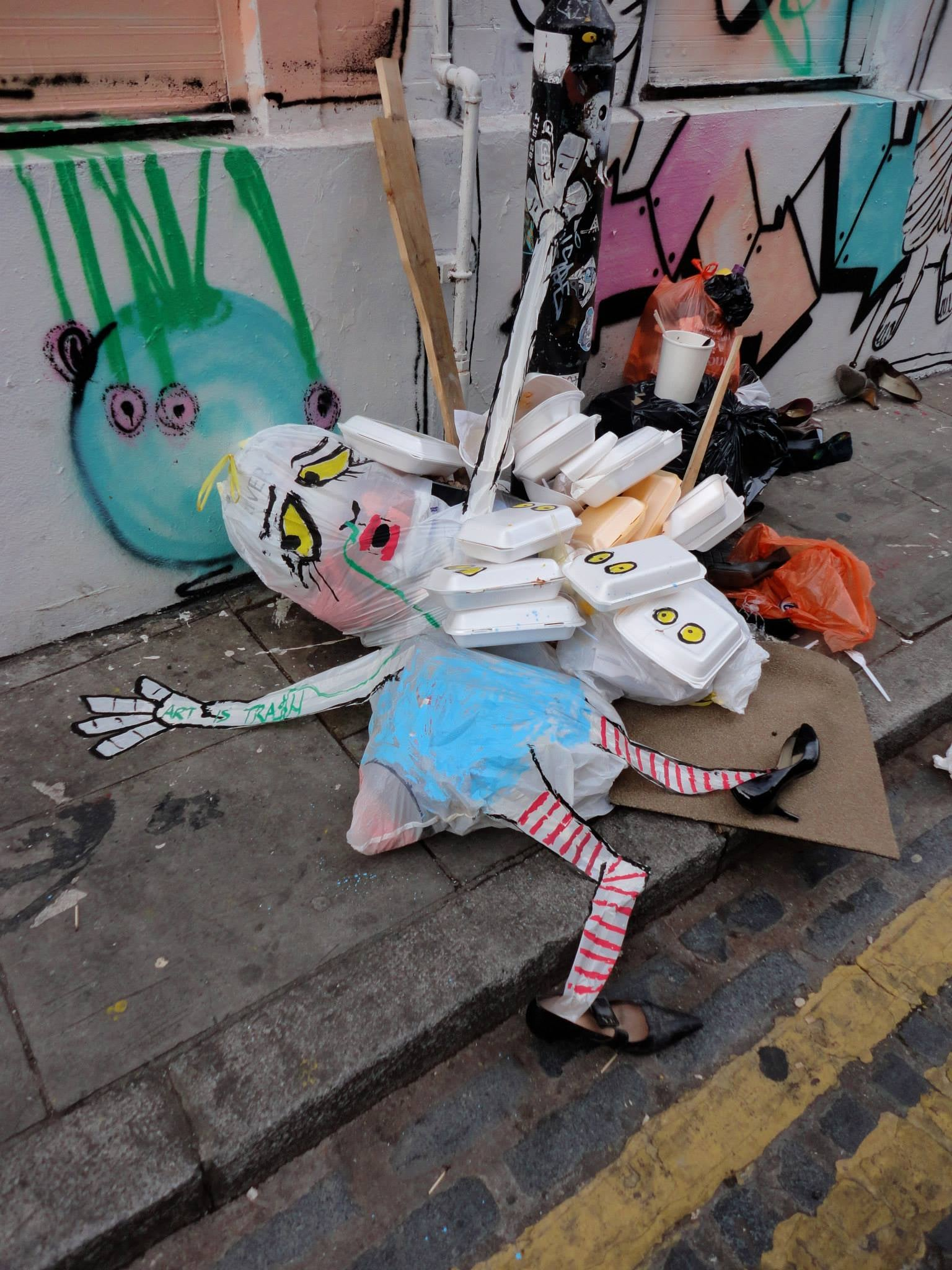 Francisco de Pajaro: Meet the street artist proving modern art isn't a load of trash