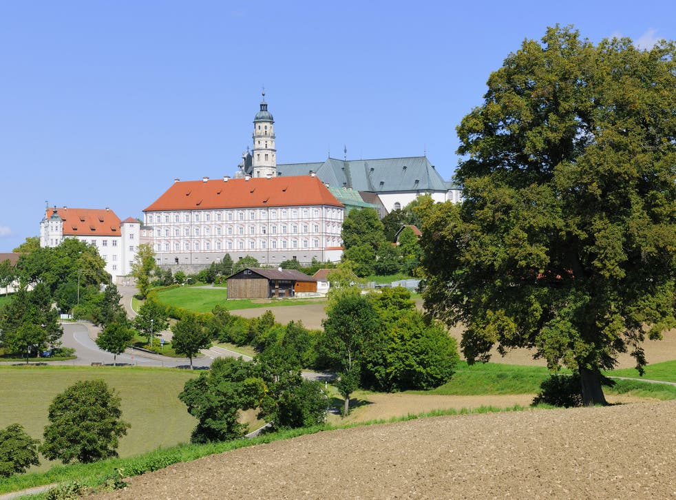 Benedictine Abbey Abtei Neresheim, Neresheim, Baden-Wuerttemberg, Germany