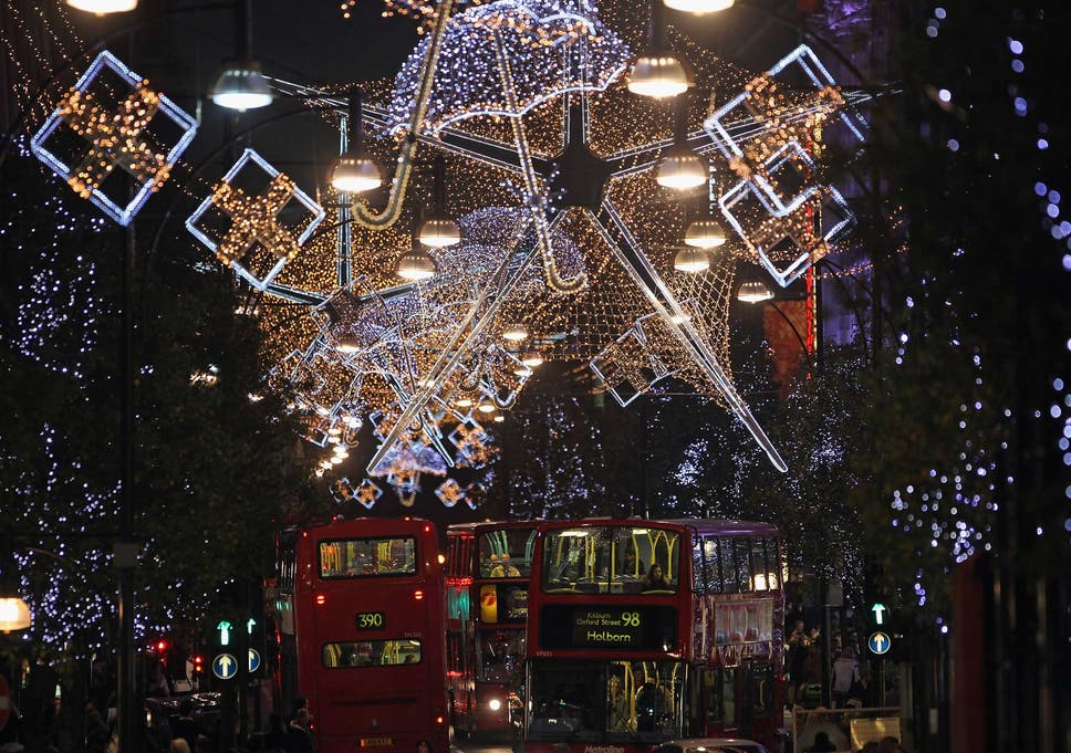 It's not yet known who will switch the lights on - Oxford Street Christmas Lights Explainer: When Will They Be Turned